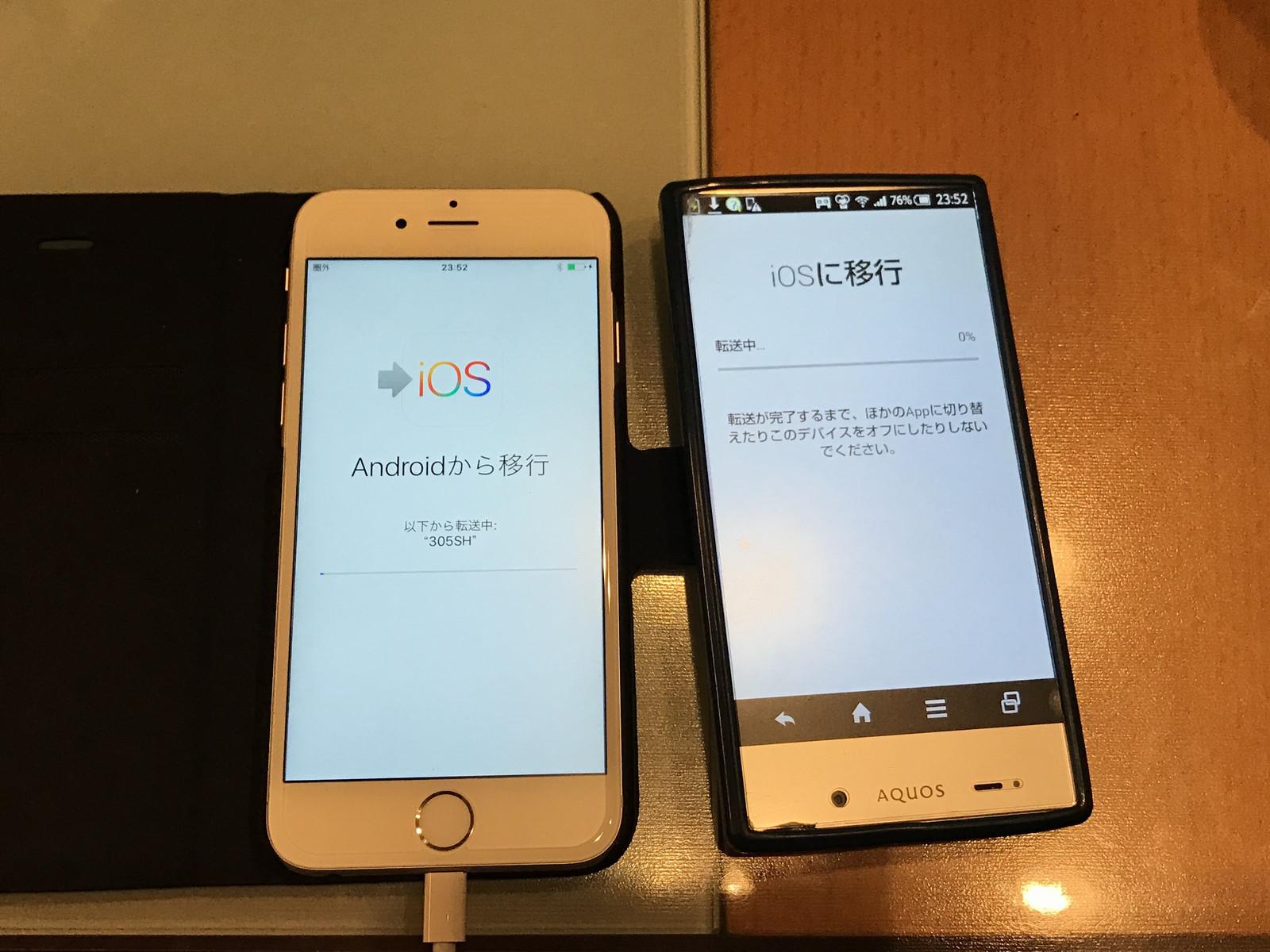 から iphone 移行 android データ