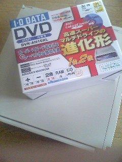 【PC】DVDドライブ設置!
