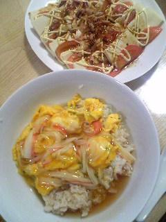 【ご飯】天津飯