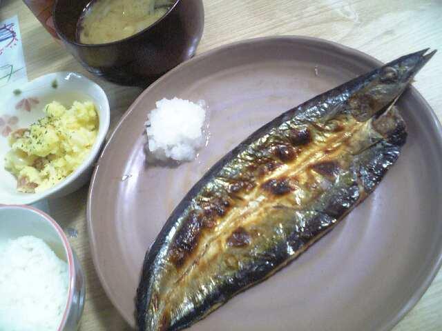 【ご飯】秋刀魚